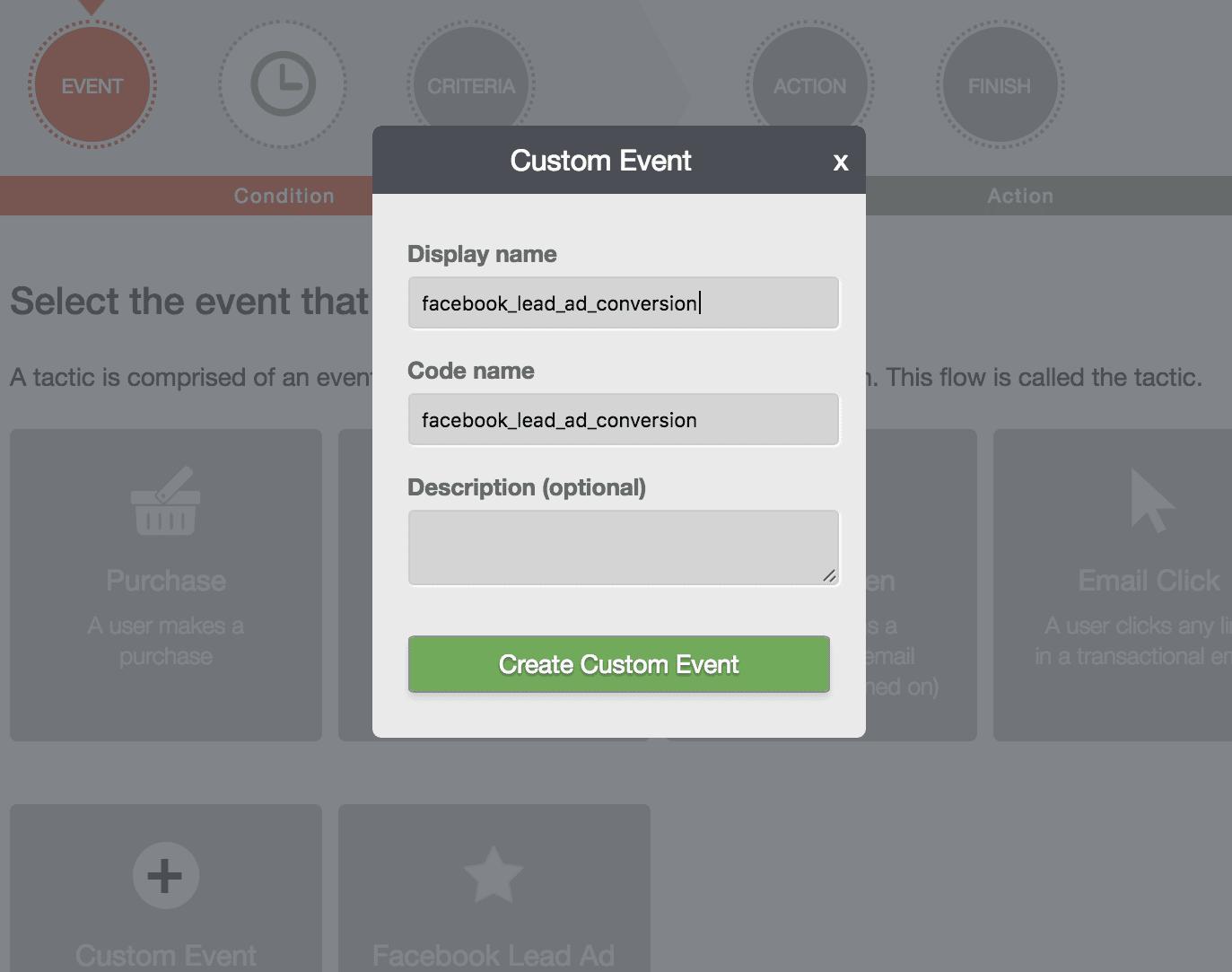 Create Custom Event