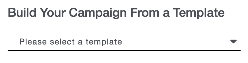 Campaigns 19 - Build Your Campaign From a Template (Recurring Only, No Checkbox)