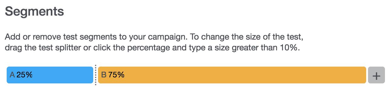 Campaigns 26 - Segment Size
