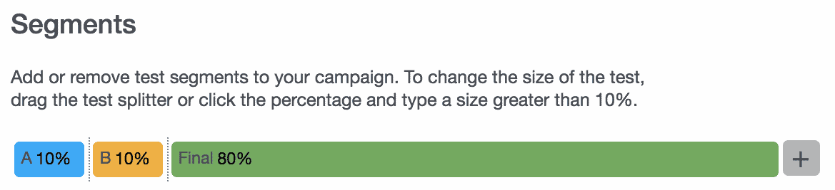 Campaigns 34 - Segment Sizes