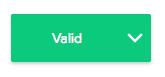user profile valid email status
