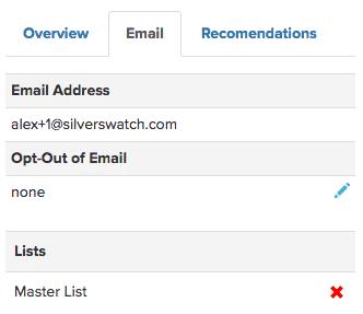 Zendesk email tab