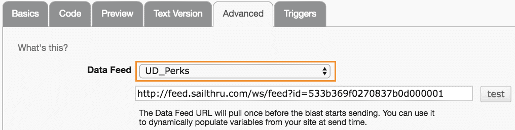 69_04_04 Use Data Feeds with Templates-69_04_04 Use Data Feeds with Templates-Adv Tab Data Feed Dropdown