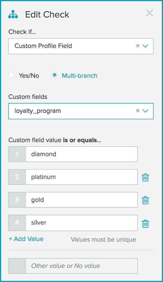 Lifecycle Optimizer multi-branch settings