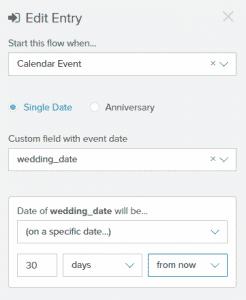 Calendar Event Entry
